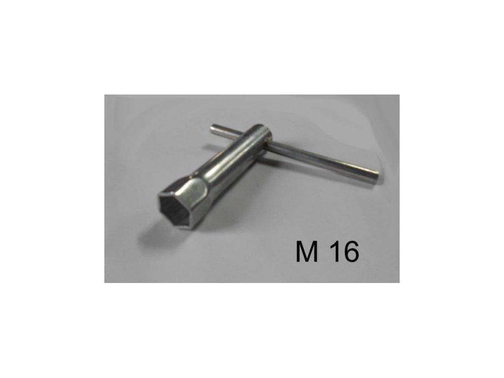 520 klic na svicky trubkovy 16 100 mm