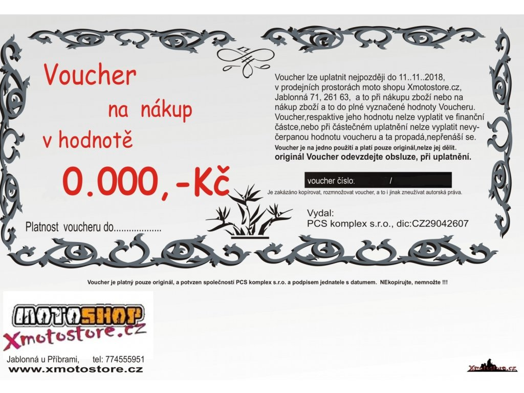 darkovy nakup 10000