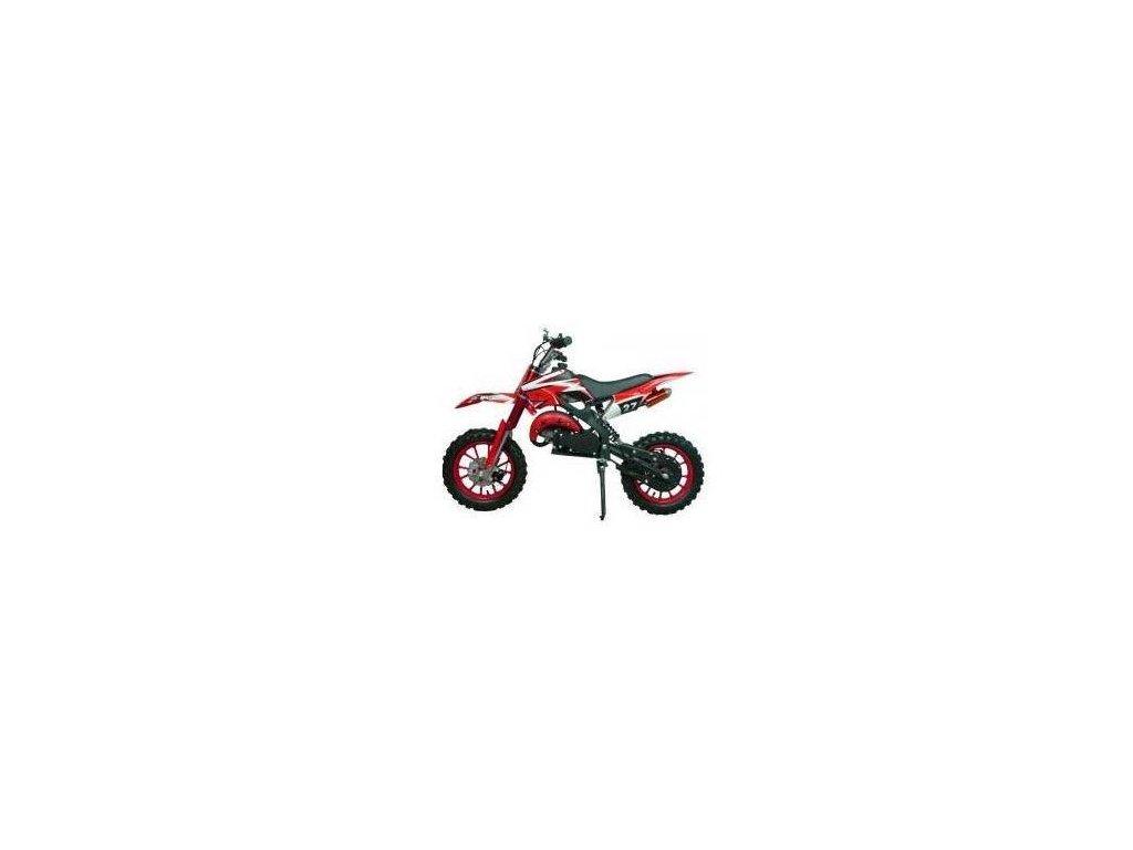 motocykl minicross 49cc 2t nitro apollo 10 atv pribram