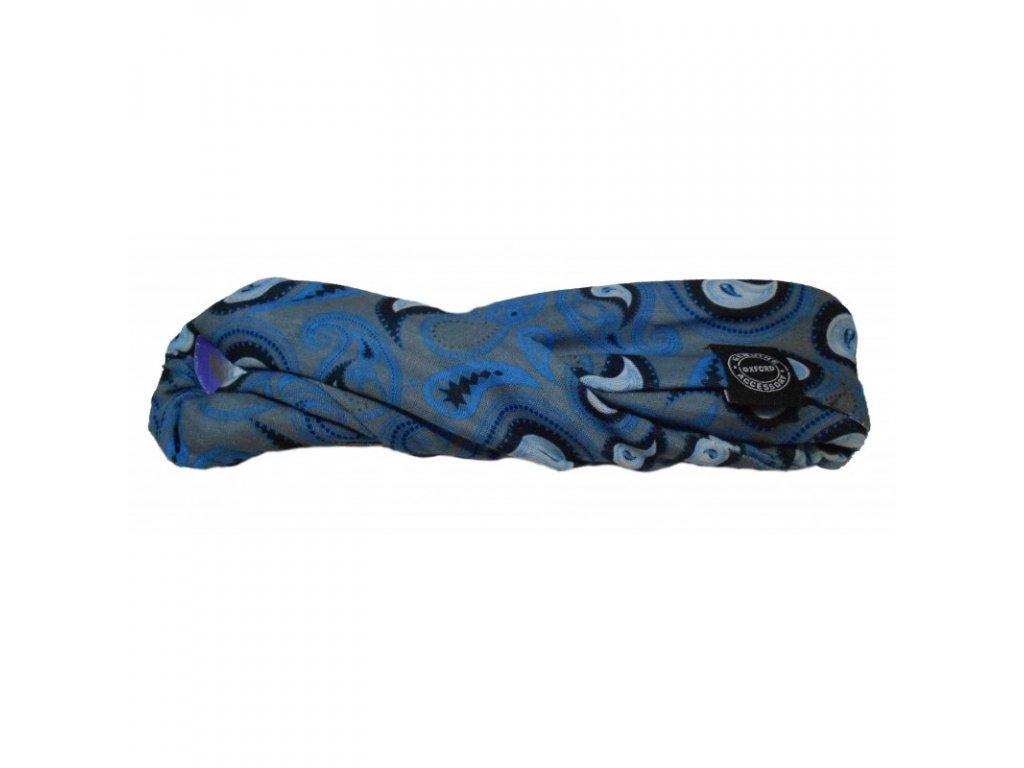 nakrcnik oxford modry se vzorem anglie satek uni moto shop
