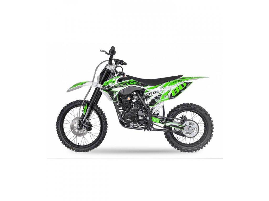 motocykl cross nitro v2 hurricane 250cc 4t nova kroska xmotostore jablonna pribram