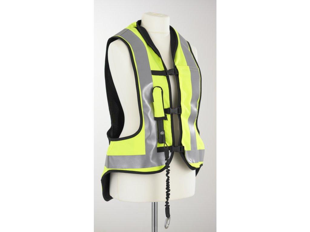 air jacket hi viz vesta reflaxni nova kvalitni bezpecna airbag damsky pansky detsky