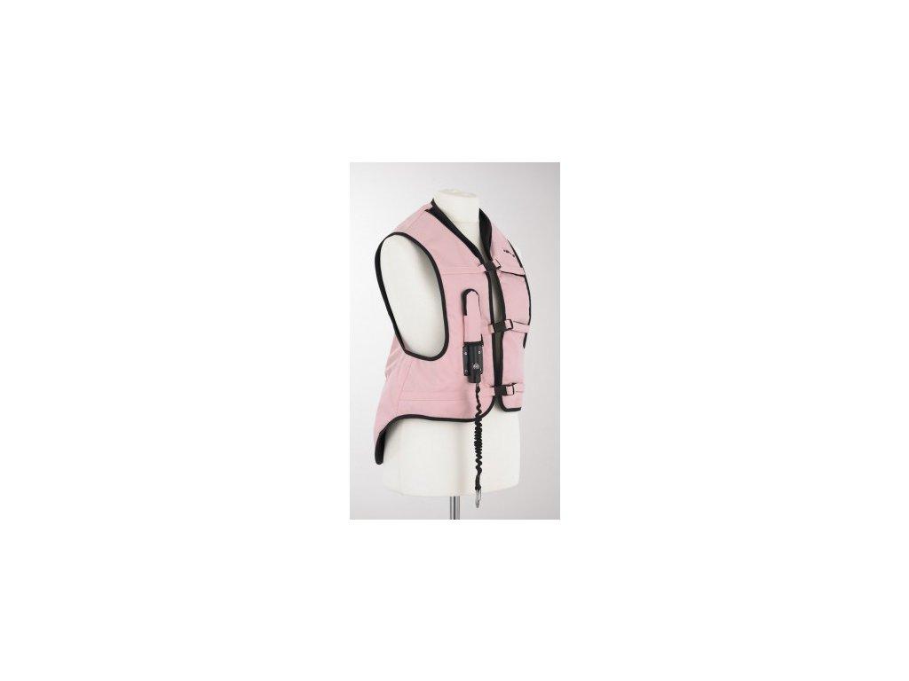 helite air vesta ruzova damska panska detska airbag na kone jezdedecky 1