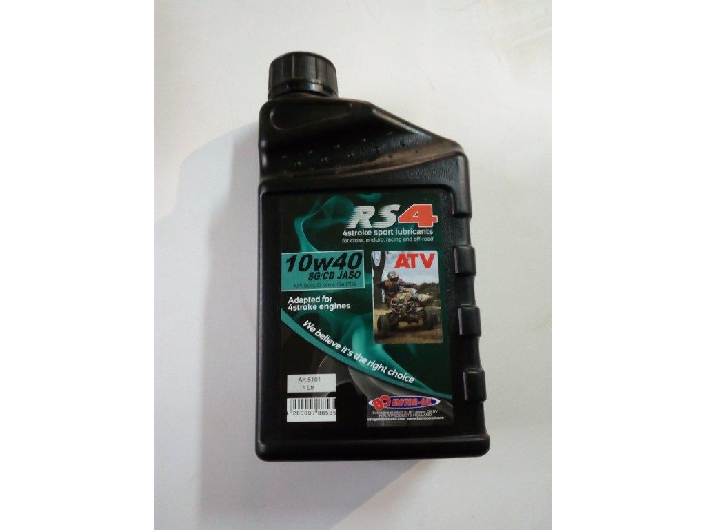 Motorový olej RS4 Sport / ATV -- 10w40 v balení 1 l.