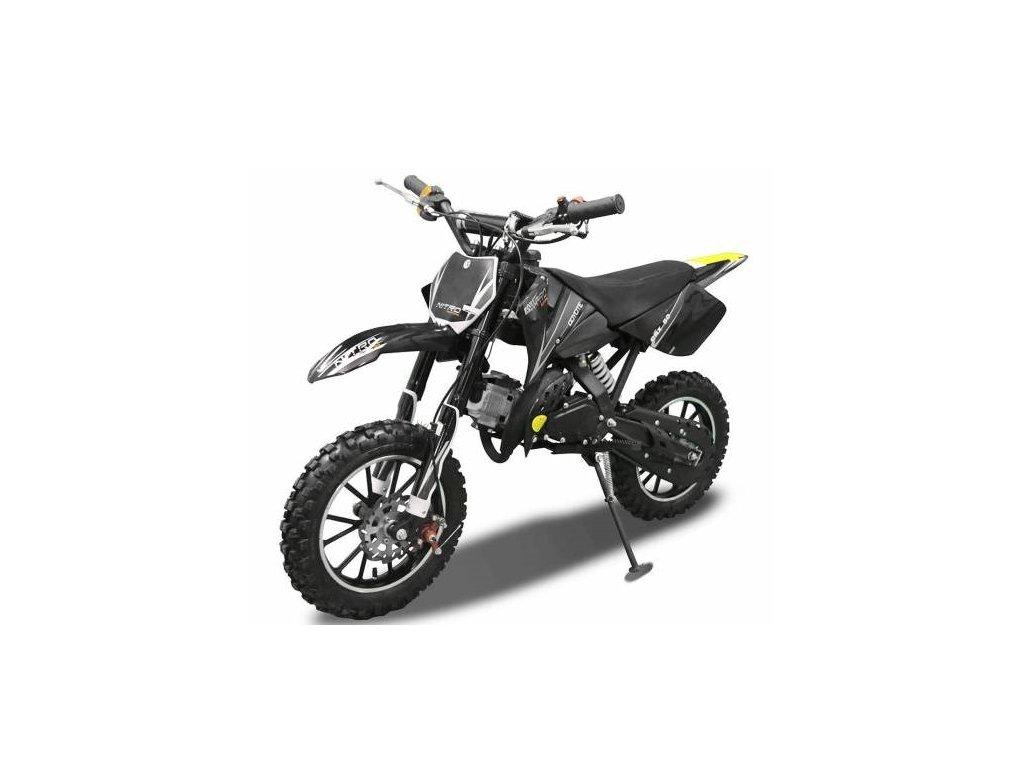 motocykl minicross nitro coyote deluxe 49cc 2t mala detska motorka kroska