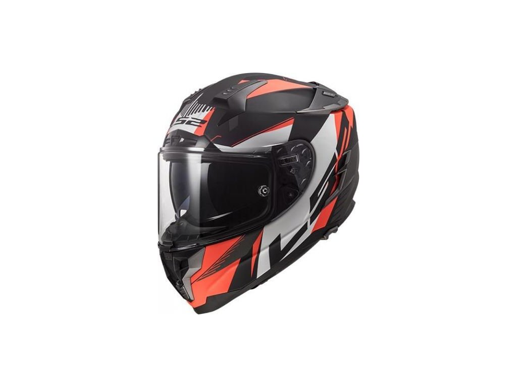 ls2 ff327 oranzova helma integralni