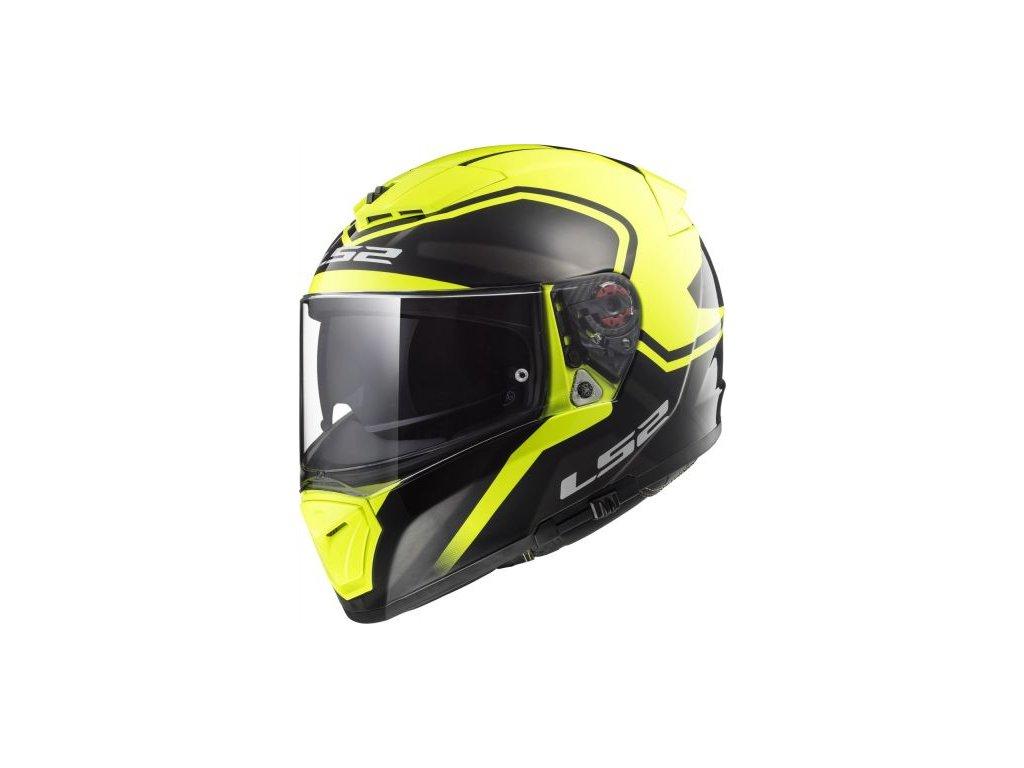 103902554 ff390 breaker bold black hi vis yellow LS2