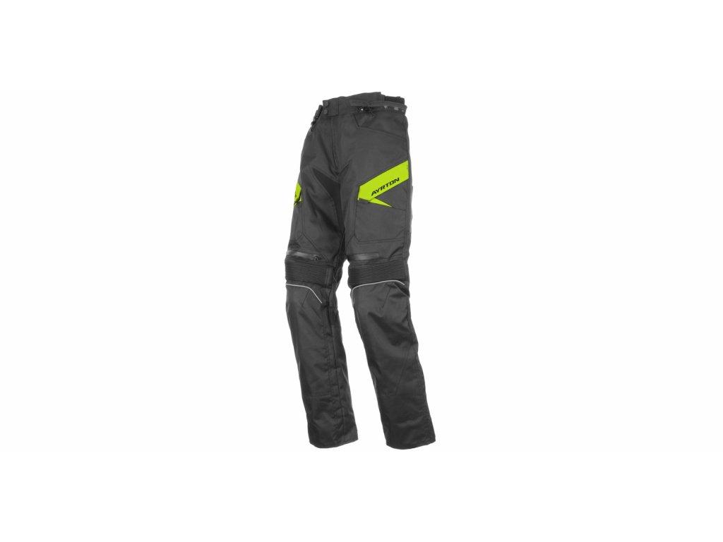 m110 80 kalhoty brock ayrton cerne fluo i191471