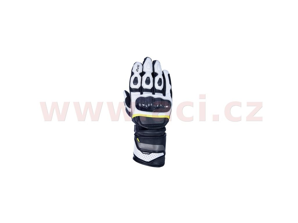 m120 319 rukavice rp 2 2 0 oxford cerne bile zlute fluo i369690