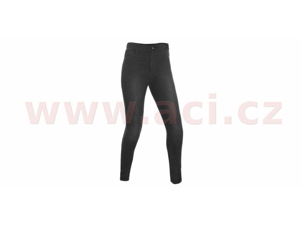 m111 44 zkracene kalhoty jeggings oxford damske leginy s kevlar podsivkou cerne i363128