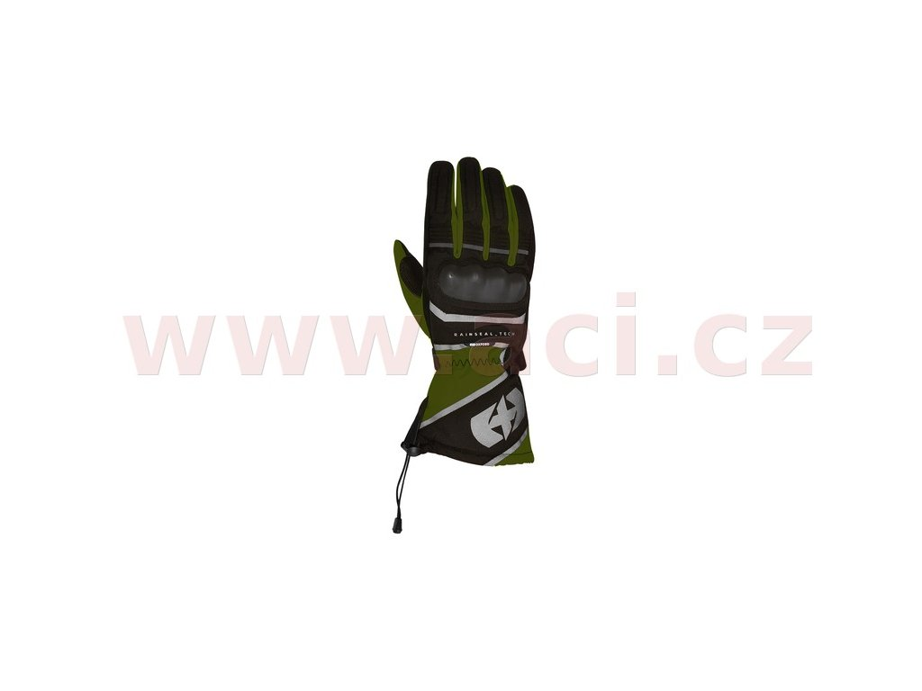 m120 310 rukavice montreal 1 0 oxford zelene army cerne i369619