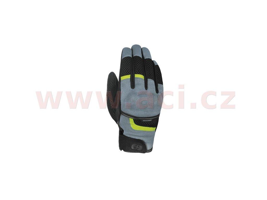 m120 316 rukavice brisbane air oxford sede cerne zlute fluo i369671