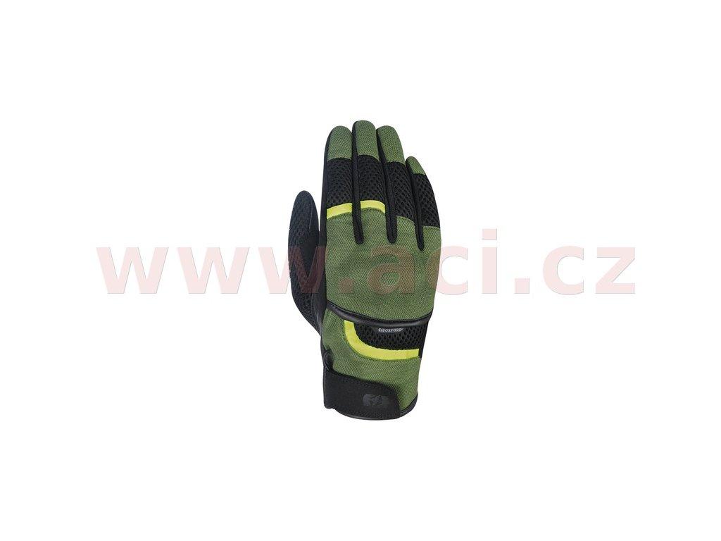 m120 315 rukavice brisbane air oxford zelene cerne zlute fluo i369655