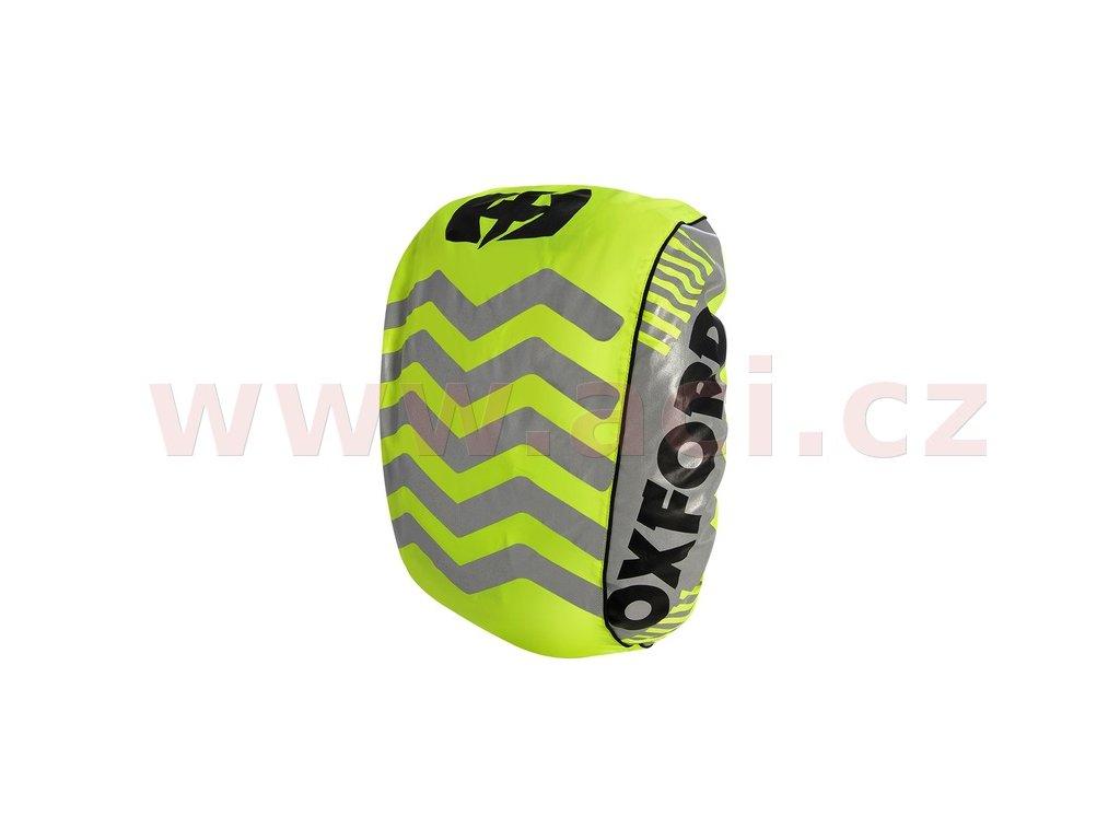 m161 15 reflexni obal plastenka batohu bright cover oxford anglie zluta fluo reflexni prvky s x v 640 x 720 mm i267373