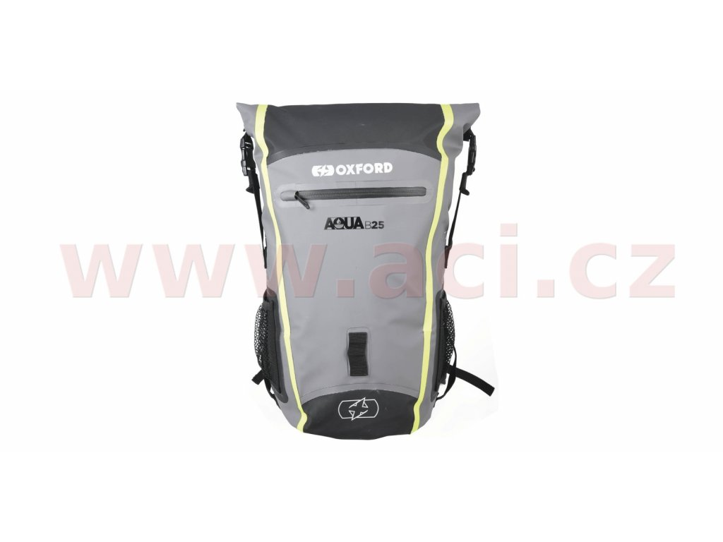 m006 290 vodotesny batoh aqua b 25 oxford cerny sedy zluty fluo objem 25 l i359582