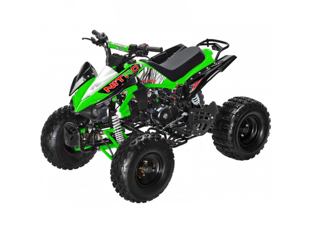 nitro xs125 zelene
