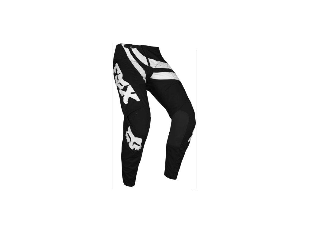 fox 180 cota pant black black mx19 kalhoty na motocykl