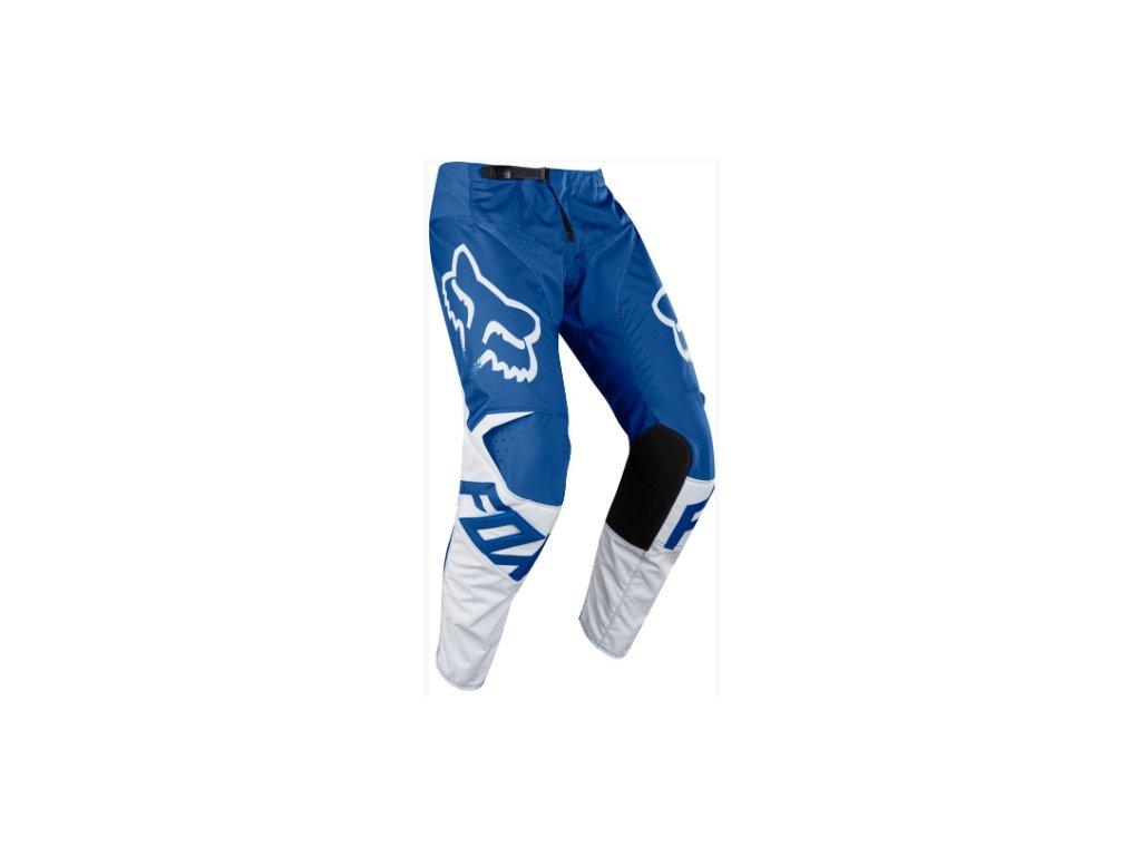 fox 180 race pant blue mx18 kalhoty na motocykl
