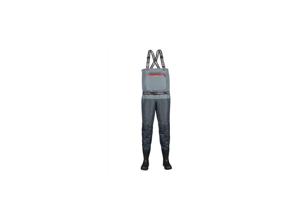 finntrail waders airman grey kalhoty na ksandy