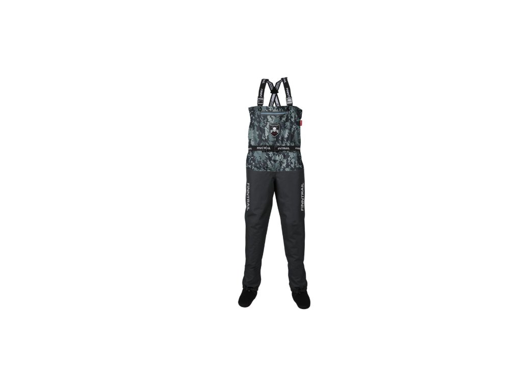 finntrail waders enduro camo grey