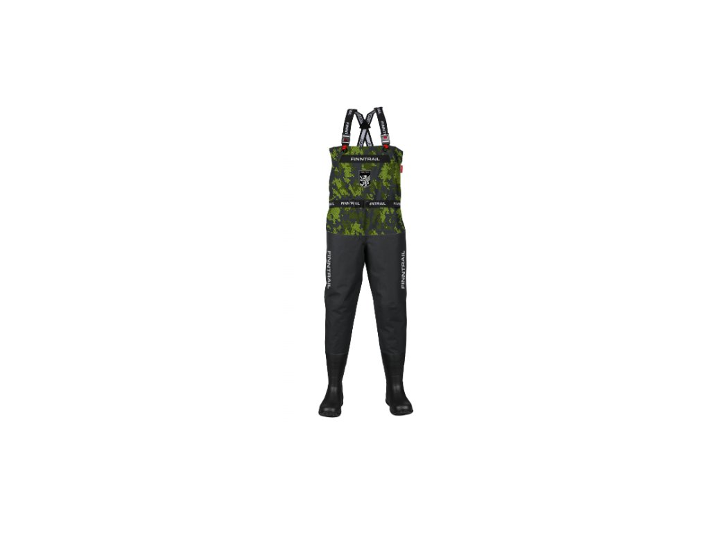 finntrail waders enduro bf camogreen kalhoty do deste
