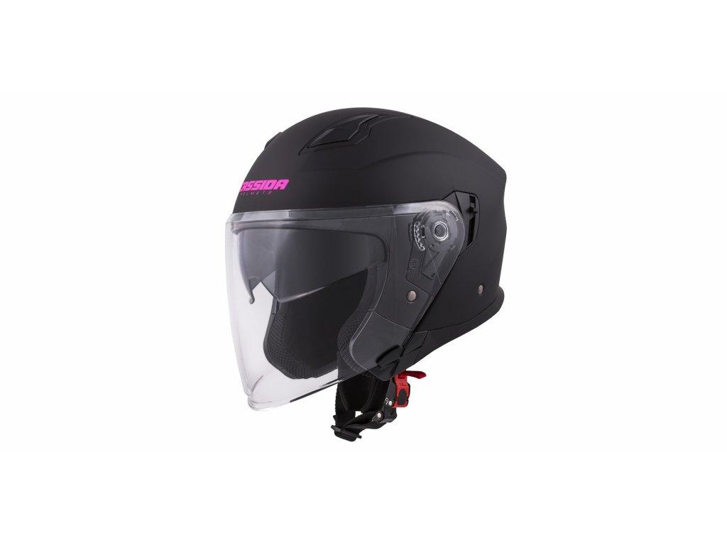 prilba jet tech cassida cerna matna helma fialova loga i366625