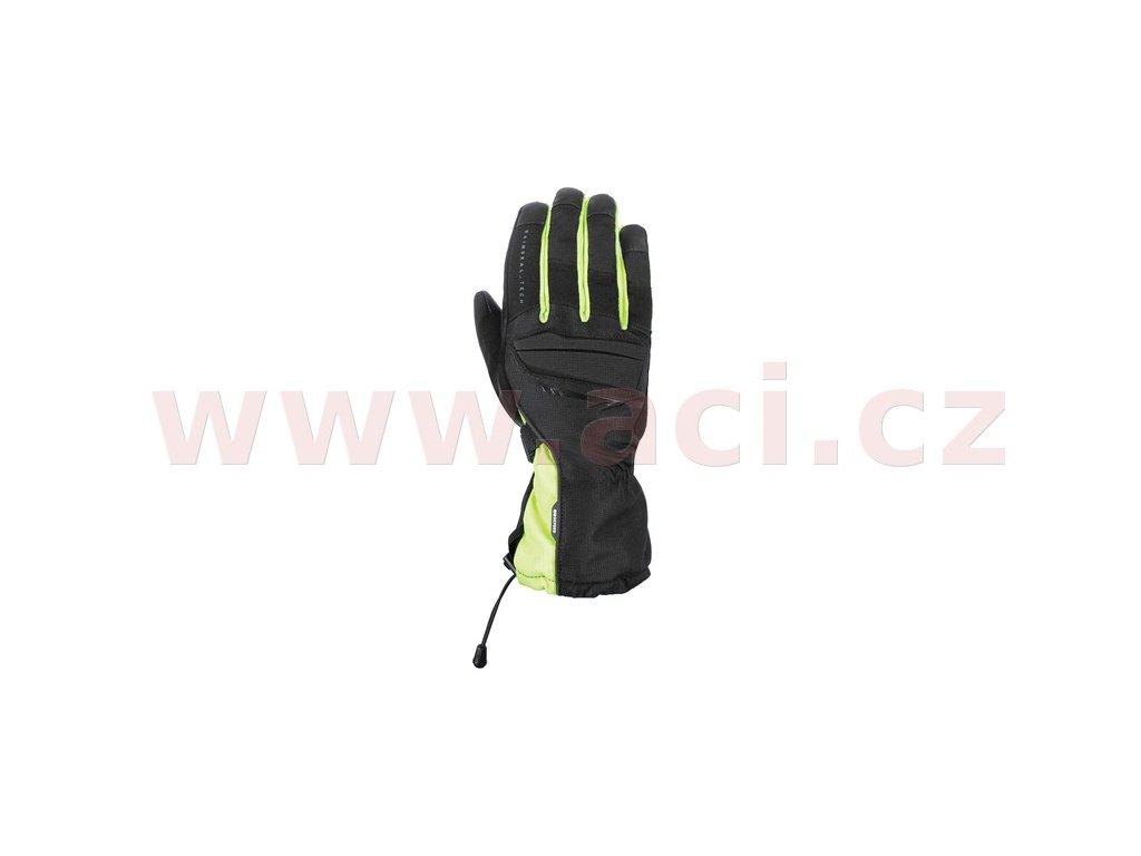 rukavice convoy 2 0 oxford cerne zlute fluo i387874