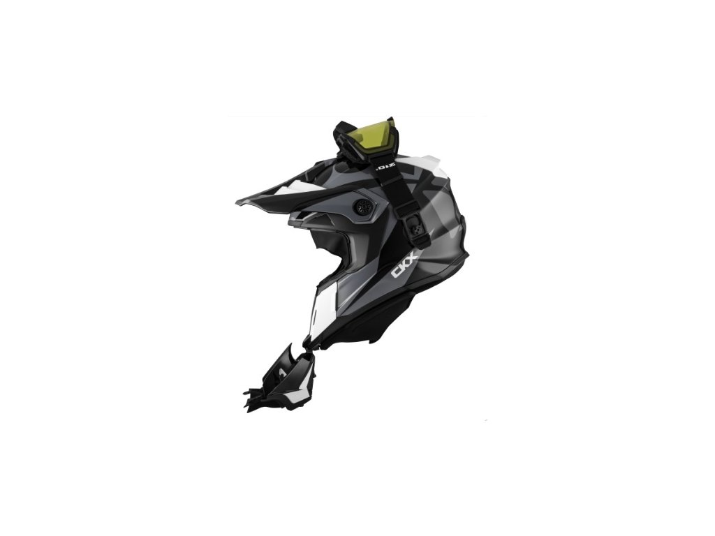 ckx helm titan ori dl sidehill wh prilba xmoto extra