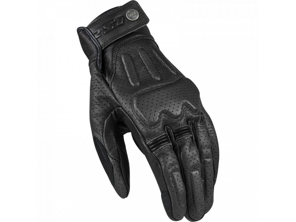 rust man gloves black leather 70040s0165