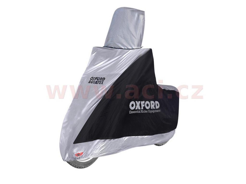 plachta na motorku aquatex highscreen scooter provedeni pro vysoke plexi oxford anglie cerna stribrna uni velikost i298023