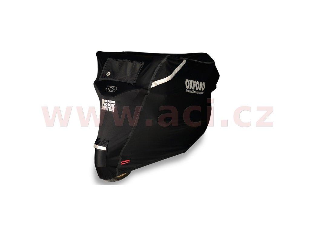 plachta na motorku protex stretch outdoor s klimatickou membranou oxford anglie cerna i307818