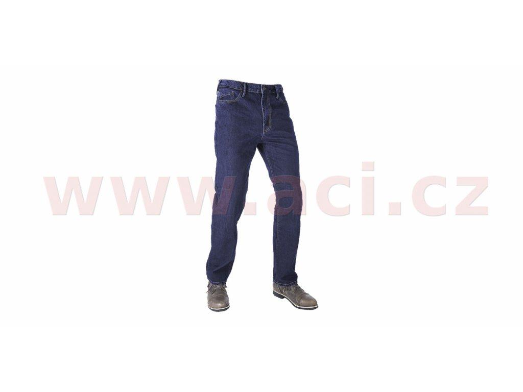prodlouzene kalhoty original approved jeans volny strih oxford panske modra i413455