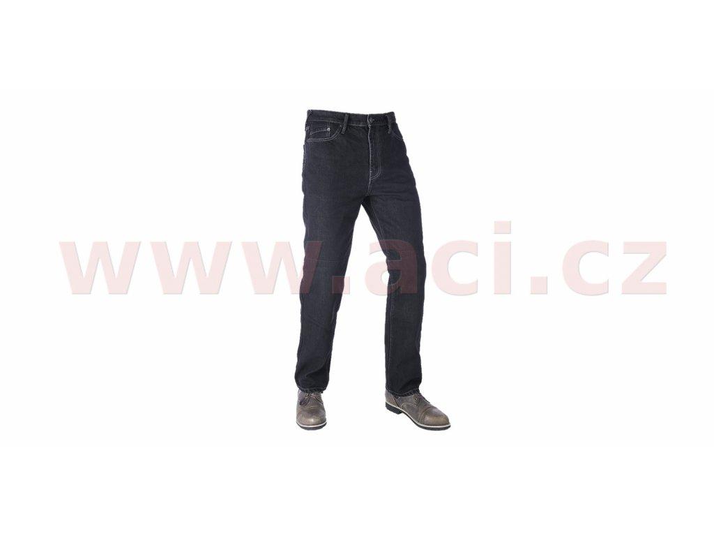 kalhoty original approved jeans volny strih oxford panske cerna i413427