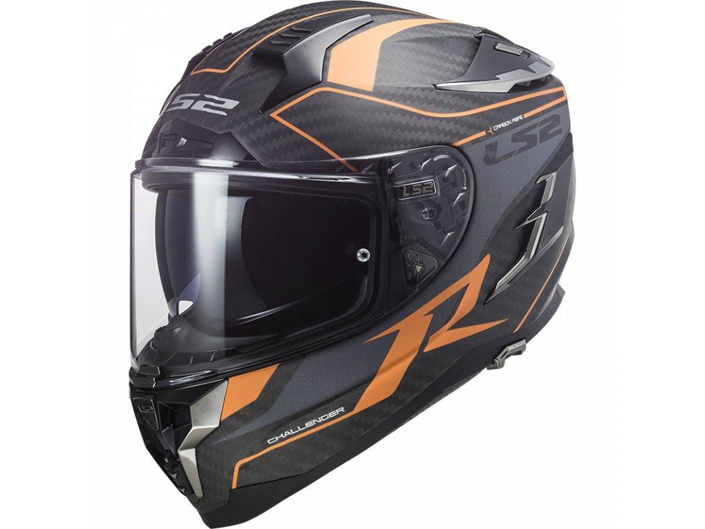 ff327 challengerc grid matt carbon orange 103277249