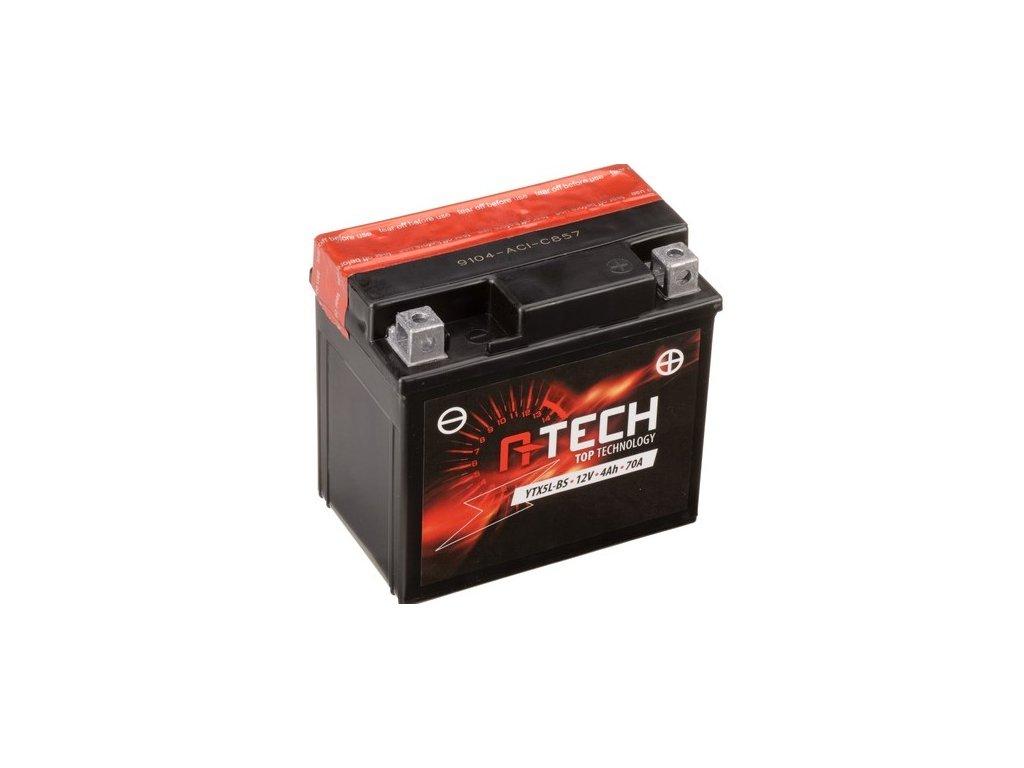 baterie 12v ytx5l bs 4ah 70a bezudrzbova mf agm moto baterie detske ctyrkolky atv