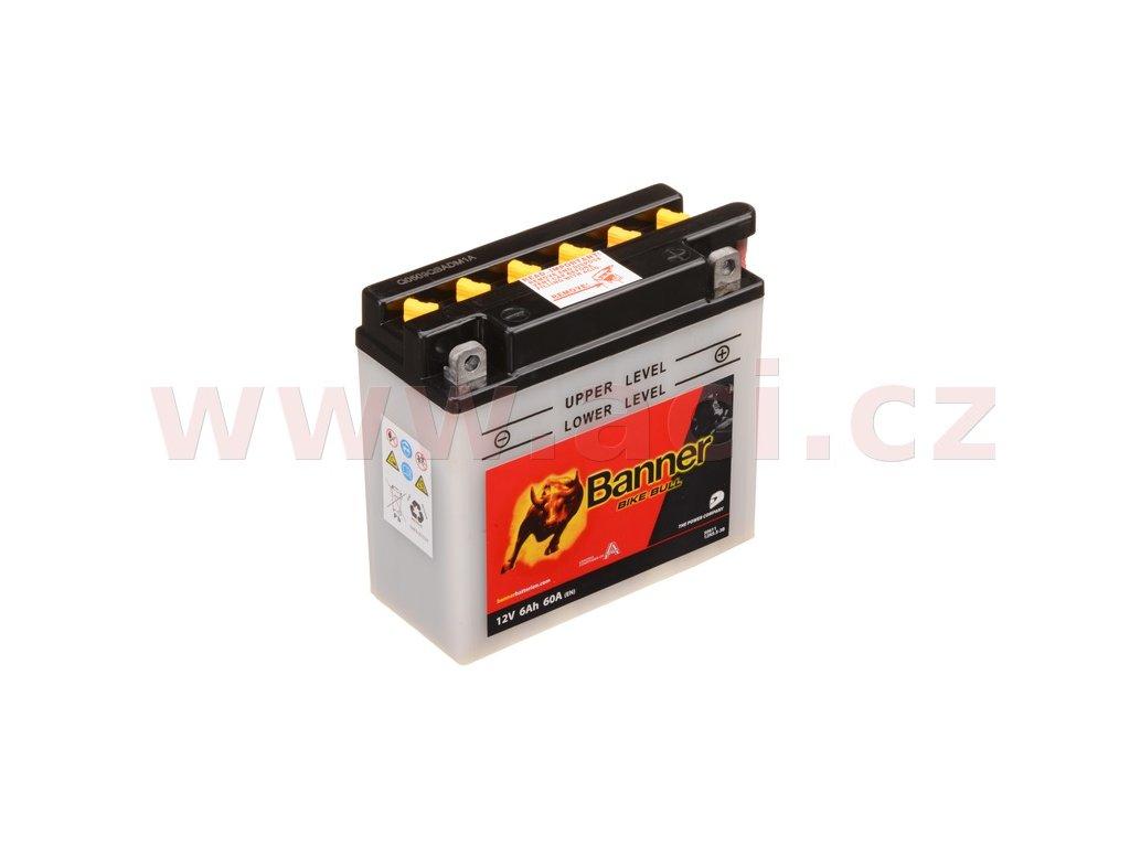 baterie 12v 12n5 5 3b 6ah 60a banner bike bull 135x60x130 i93512