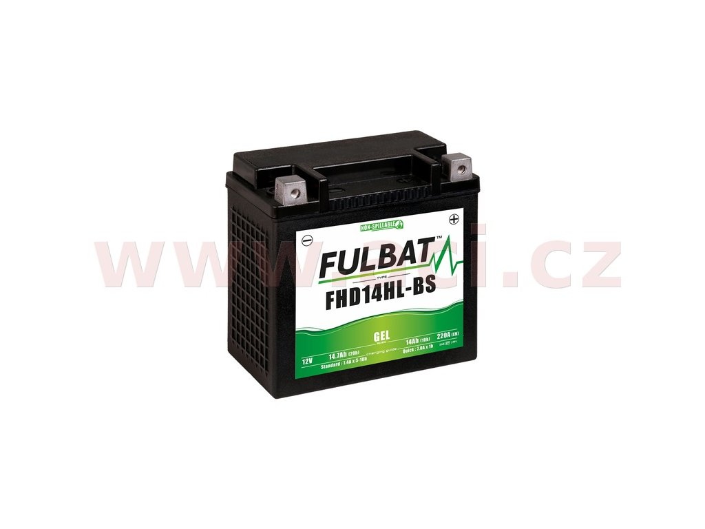 baterie 12v fhd14hl bs gel 14 7ah 220a bezudrzbova gel technologie fulbat 150x87x145 aktivovana ve vyrobe i188786