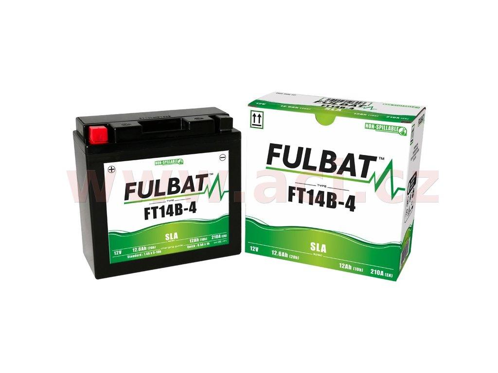 baterie 12v ft14b 4 sla 12 6ah 210a bezudrzbova mf agm 184x124x170 fulbat aktivovana ve vyrobe i138250