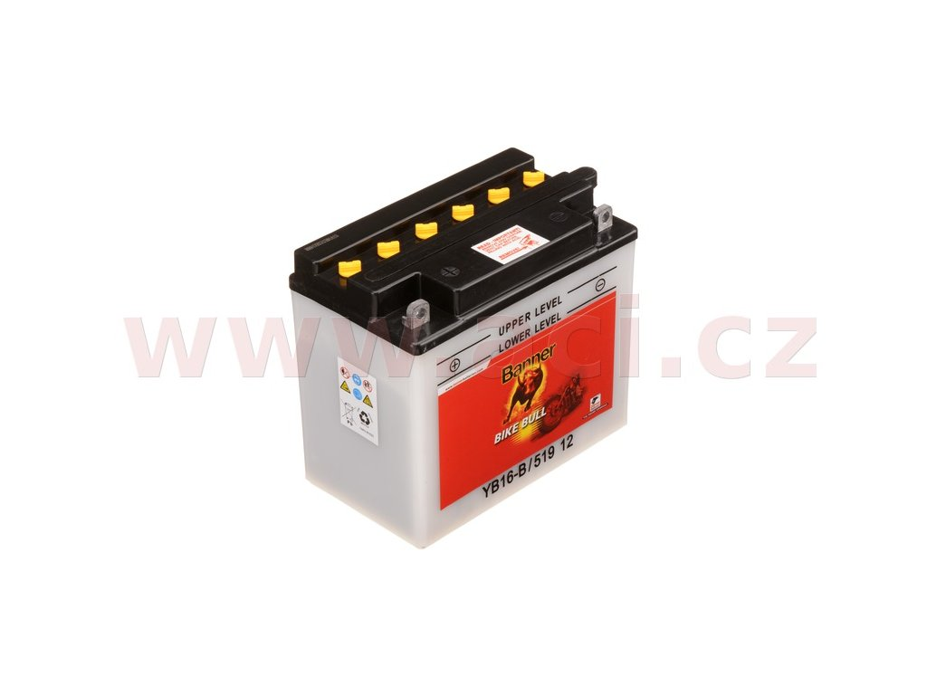 baterie 12v yb16 b 19ah 230a banner bike bull 175x100x155 i93528