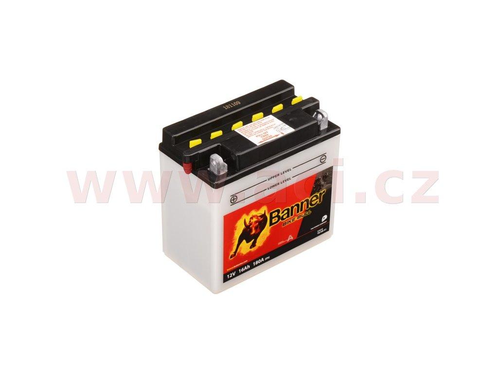 baterie 12v yb16b a1 16ah 180a banner bike bull 160x90x161 i93525