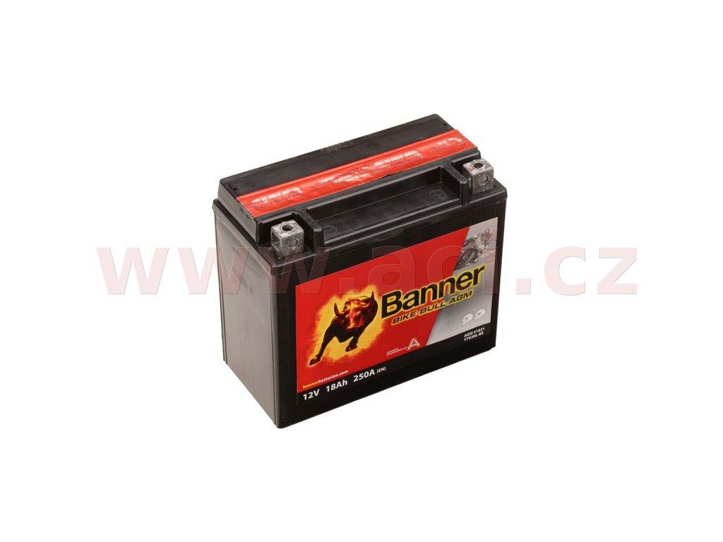 baterie 12v ytx20 l bs 18ah 250a banner bike bull agm 175x87x155 i93543