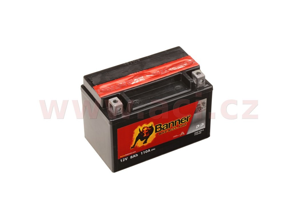 baterie 12v ytx9 bs 8ah 110a banner bike bull agm 150x87x105 i93538