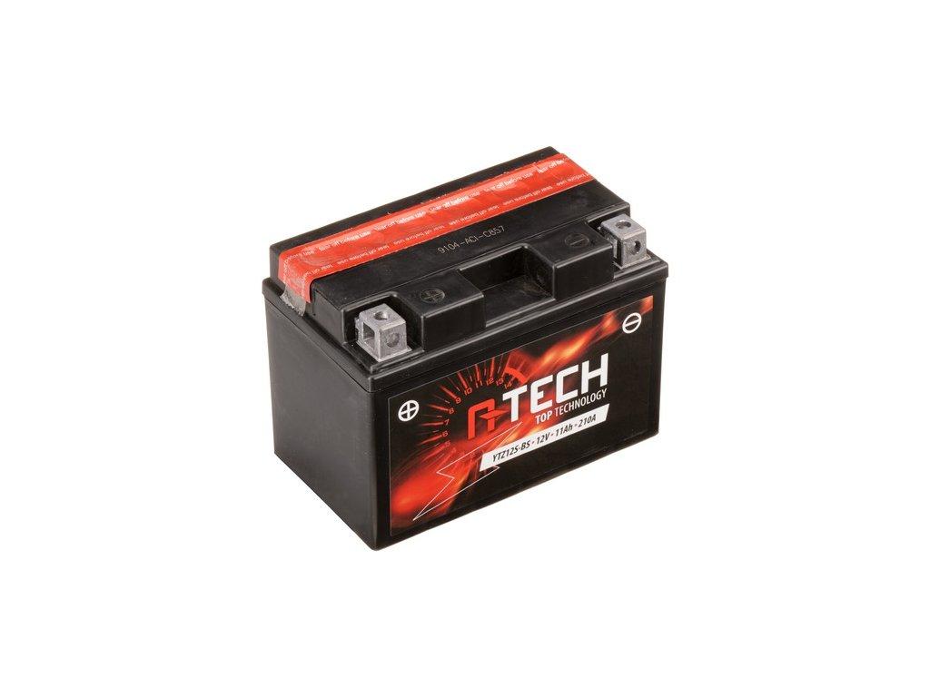 baterie 12v ytz12s bs 11ah 210a bezudrzbova mf agm 150x87x110 a tech vc baleni elektrolytu i138322