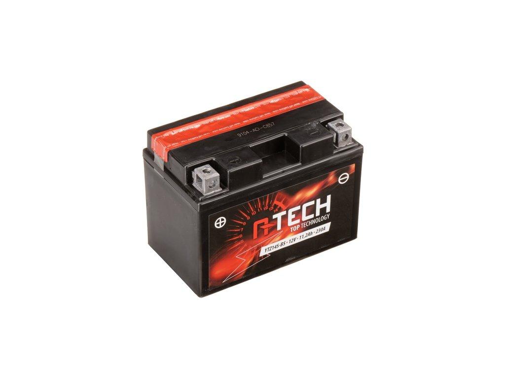 baterie 12v ytz14s bs 11 2ah 230a bezudrzbova mf agm 150x87x110 a tech vc baleni elektrolytu i138323