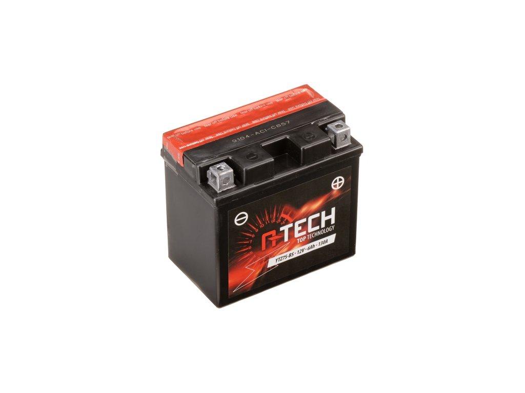 baterie 12v ytz7s bs 6ah 130a bezudrzbova mf agm 113x70x105 a tech vc baleni elektrolytu i138326