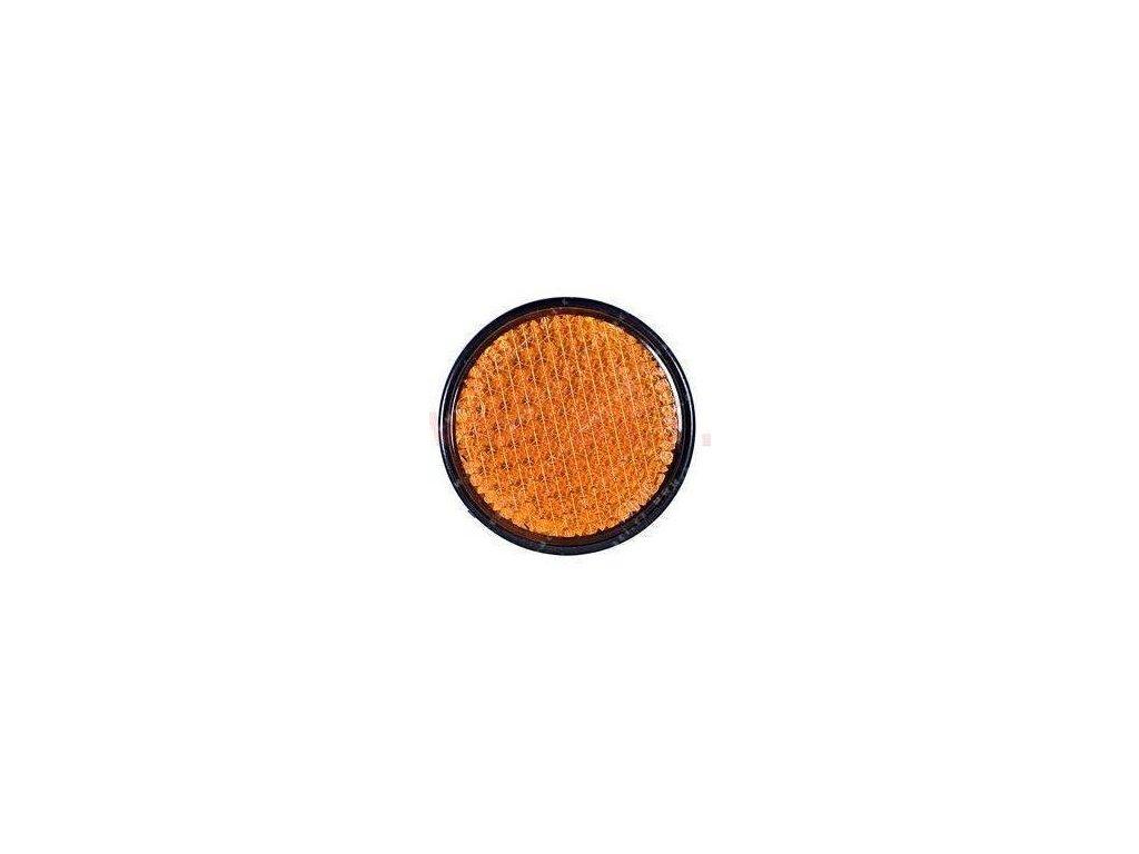 odrazka kulatá oranžová