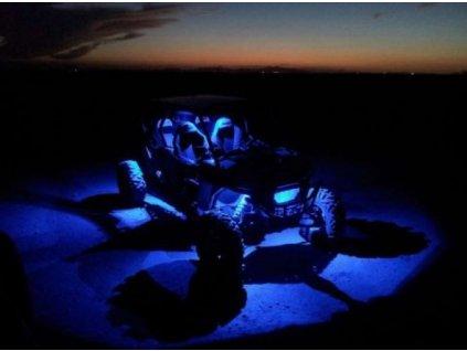 podsviceni barevne shark led rock light 3 x2 9w multi color bluetooth control 4 pcs set barevne svetlo na auto motorku ctyrkolku pribram sedlcany jablonna