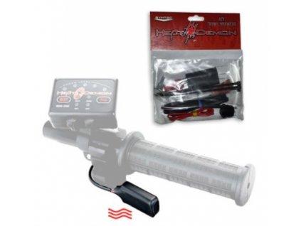 symtec thumb warmer kit ATV 35 70 Ohms H L RR vyhrivani riditek palce plynu