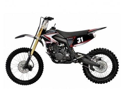 motocykl xmotos xzt250 xb31 250cc 4t kroska cross pitebike 250 pro dospele velka kola levna cina