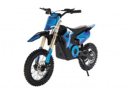 BUFFLER eD1000Y BLUE modra mini motorka minicross detska elektro znackova